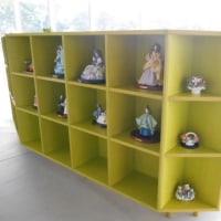ロマンドール(磁器人形) 小須戸教室の展示しています!