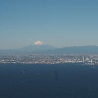 富士山を見ながら 東へ