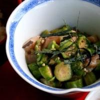 主人と二人で久しぶりの日本お惣菜料理