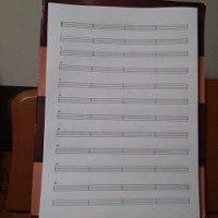 ベース用タブ譜を自作しました