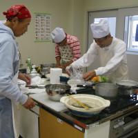 ハモとタコを使った料理教室を開催しました。