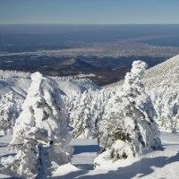 2017年1月8日 北八甲田 赤倉岳 井戸岳 の樹氷と展望