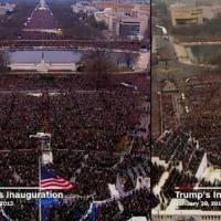 就任式の人出は「不正確」 トランプ大統領がメディア批判