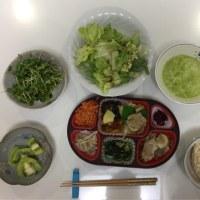 スマホ→外出→夕食