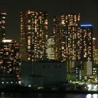港区海岸1丁目11階から見た夜景