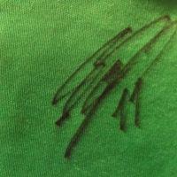 松本山雅の4選手からサインをもらう!