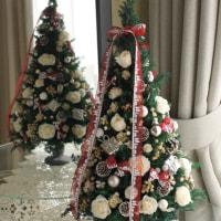♪クリスマスツリー(ホワイトローズ)♪