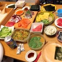 誕生日手巻き寿司パーティー