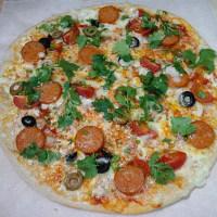 チョリソーピザ