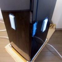 三菱冷凍庫:MF-U14B-Bお届け設置です。
