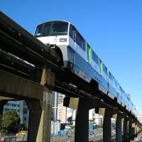 【鉄道写真】京浜運河を行く東京モノレール(その7)