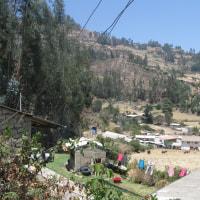 アンデス・ブランカ山脈紀行;第8日目(2);トレッキング4日目;カシャパンパ