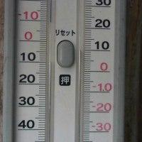平成29年4月25日・今朝の東祖谷7.6℃