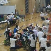 特別支援学校運動会、つばさの子どもたちも頑張りました!