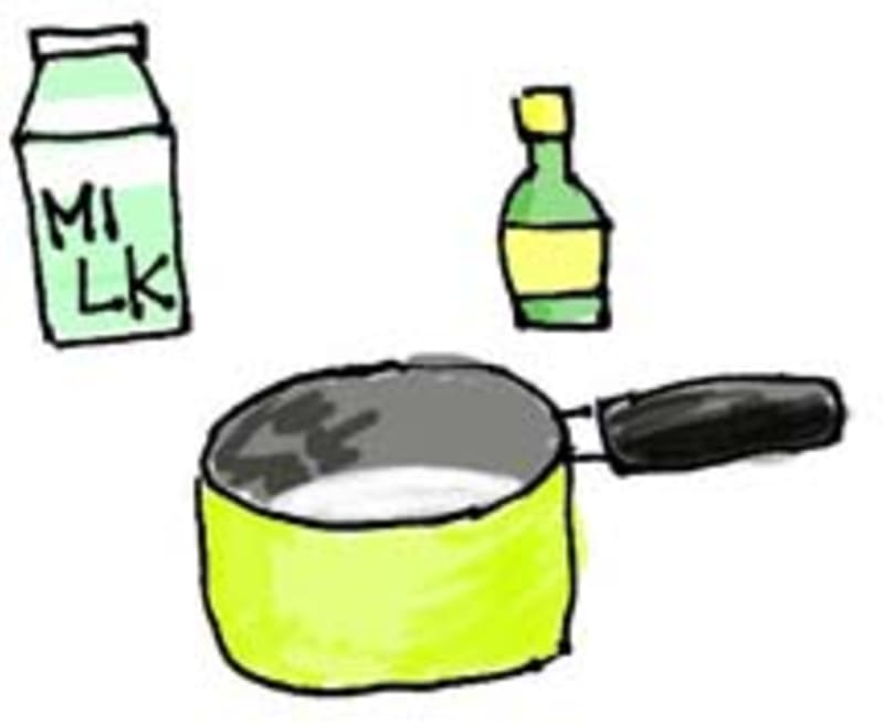 カッテージチーズの作り方