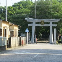 前鳥神社の鳥居