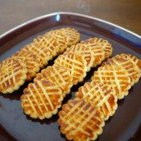 グレープフルーツムースとナンテ風クッキー