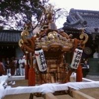 矢切神社の神輿