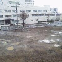 2017/4/23 午前7時半前札幌の空模様   曇りのち晴れ
