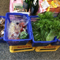 清原さんの野菜入荷です。