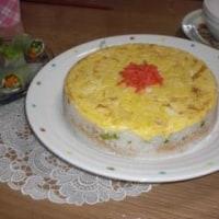 ケーキ風押し寿司 ~ひなまつり~