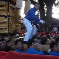新居浜太鼓祭りに行ってみた。