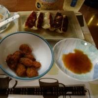 10月22日夕 豚肉ともやしのオイスターソース炒め