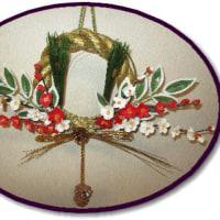 お正月飾り(パンフラワー)