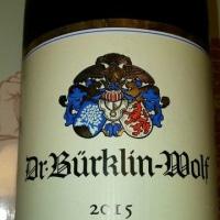 Dr.Buerklin-Wolfの2015年のDeidesheimのOrtsweinです。