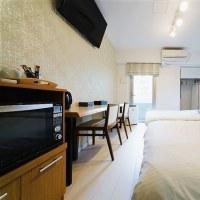 せ、狭い!日本のホテル
