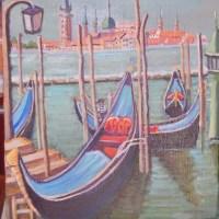 海外旅行で描いた油彩画(その22)