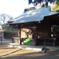 初詣は近所の小さな神社で済ませました
