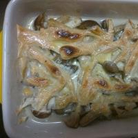 キノコチーズ焼き