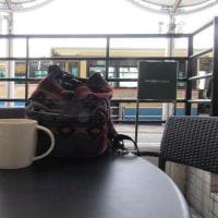 今日のソト◎カフエ・北千里駅前、スタバ