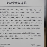 岡山市中区の遺跡・賞田廃寺塔 2017.03.06 「297」