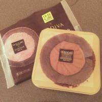ローソンさんゴディバとコラボのプレミアムロールケーキ