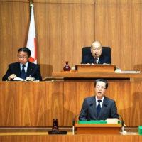狙いは9条改憲。県議会でも自民会派が憲法論議の意見書提出。