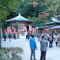 11月25日 江の島弁財天にお礼に行きました。