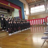 平成28年度男鹿市船越小学校卒業式