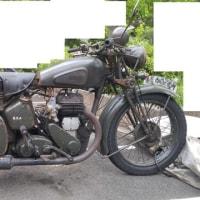 衝撃!驚愕!!現存レストア英国BSA軍用バイク