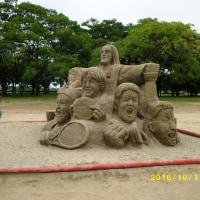 今年の砂像展金賞作品