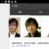 My favorite author is Keigo Higashino, and his books became movies  a couple of times.