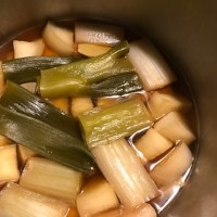 圧力鍋で豚の角煮リベンジ(備忘録として)