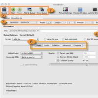 定番のDVDリッピングソフトHandBrake Mac、DVD Ripper Mac Free徹底比較