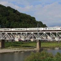 近鉄吉野線の撮影定番スポット 吉野川橋梁(奈良県)