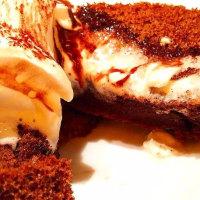 ふわふわショコラのスフレパンケーキ
