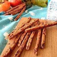 おかなさんの きな粉と干し柿のサクサク棒