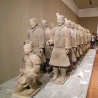 「始皇帝と大兵馬俑」展に行く