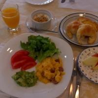 今日の朝食❣️