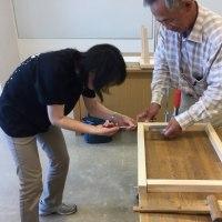 大人の木工工作の試作